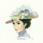 Rebecca Mini - Evenweave - Heritage Cross Stitch Kit
