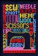 Let's Sew - Bobbie G Designs Cross Stitch Kit