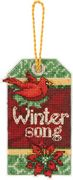 Winter Song Ornament - Dimensions Cross Stitch Kit