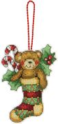 Dimensions Bear Ornament Cross Stitch Kit