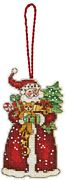 Santa Ornament - Dimensions Cross Stitch Kit