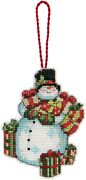 Dimensions Snowman Ornament Cross Stitch Kit
