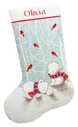 Dimensions Snow Bears Stocking Cross Stitch Kit