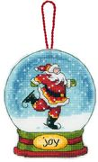 Joy Globe Ornament - Dimensions Cross Stitch Kit