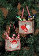 Mini Tree Bags - Permin Cross Stitch Kit