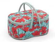 Poppy Oval Sewing Box Large