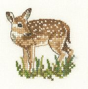 Heritage Fawn - Aida Cross Stitch Kit