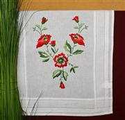 Deco-Line Poppies Runner Embroidery Kit