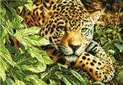 Leopard in Repose - Dimensions Cross Stitch Kit