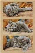Dimensions Max the Cat Cross Stitch Kit
