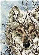 Wolf - Dimensions Cross Stitch Kit