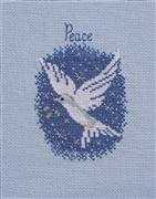 Peace on Earth - Derwentwater Designs Cross Stitch Card Design