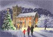 Christmas Church - Evenweave - Heritage Cross Stitch Kit