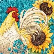 Dimensions Rooster Cross Stitch Kit