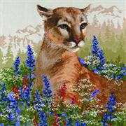 RIOLIS Cougar Cross Stitch Kit