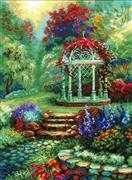 RIOLIS Flower Arbour Cross Stitch Kit