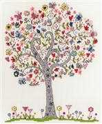 Love Tree - Bothy Threads Cross Stitch Kit