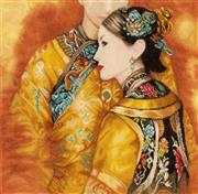 Asian Couple - Lanarte Cross Stitch Kit