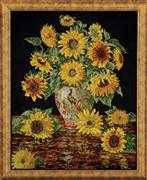 Design Works Crafts Sunflower Vase Cross Stitch Kit