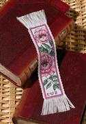 Peony Bookmark - Permin Cross Stitch Kit