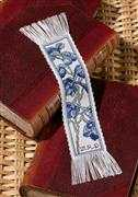 Blue Flower Bookmark - Permin Cross Stitch Kit