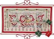 Permin Workshop Advent Embroidery Kit