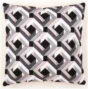 Black and White Cushion - Vervaco Long Stitch Kit