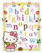 Hello Kitty ABC - Vervaco Cross Stitch Kit