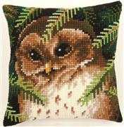 Baby Owl Cushion - Vervaco Cross Stitch Kit