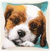 Cute Puppy Cushion - Vervaco Cross Stitch Kit