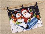 Sleigh Ride Advent - Vervaco Cross Stitch Kit