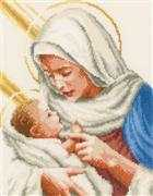 Mary and Jesus - Vervaco Cross Stitch Kit