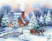 RIOLIS On Christmas Eve Cross Stitch Kit