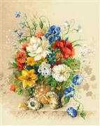 RIOLIS Flemish Summer Cross Stitch Kit