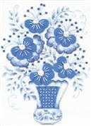Light Blue Bouquet - RIOLIS Cross Stitch Kit