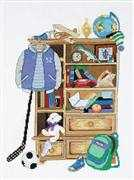 RIOLIS Boy's Locker Cross Stitch Kit
