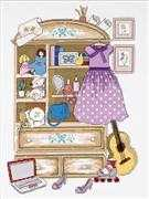 RIOLIS Girl's Locker Cross Stitch Kit