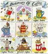 Dictionary of Coffee - Bothy Threads Cross Stitch Kit