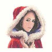 Heritage Scarlett Mini - Aida Christmas Cross Stitch Kit