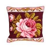 Romantic Rose 2 Cushion - Collection D'Art Cross Stitch Kit