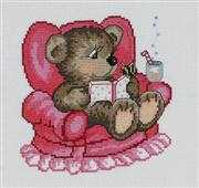 Storytime Bear - Permin Cross Stitch Kit