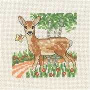 Fawn - Permin Cross Stitch Kit
