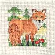 Fox - Permin Cross Stitch Kit