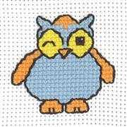Winking Owl - Permin Cross Stitch Kit