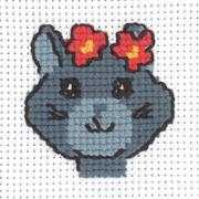 Kitten - Permin Cross Stitch Kit