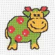 Cow - Permin Cross Stitch Kit