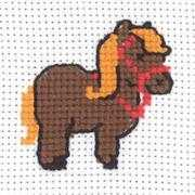 Pony - Permin Cross Stitch Kit