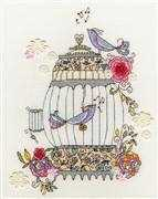 Bothy Threads Love Birds Cross Stitch Kit