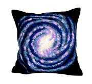 Galaxy Cushion - Collection D'Art Cross Stitch Kit