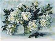 Peonies - Luca-S Cross Stitch Kit